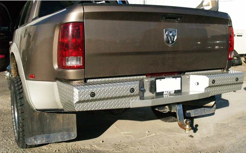 Dually Mud Flaps >> Thunderstruck DHD10-300 Premium Rear Bumper with Sensor Holes Dodge RAM 2500/3500 2010-2018 Gas ...
