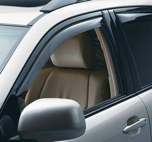 Exterior Accessories - Window and Sunroof Visors