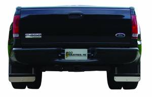 Go Industries Dually Mud Flaps - Ford Truck Mud Flaps