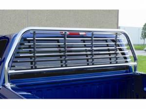 Chrome Round Tube Headache Racks - Toyota Trucks