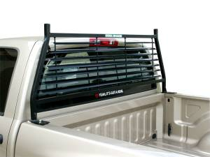 Black Flat Iron Headache Racks - Chevrolet Trucks