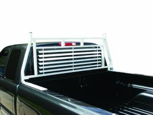 White Tool Box Rack Headache Racks - Toyota Trucks