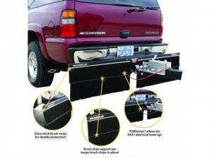 Towtector Hitch System - Hitch Mount Mud Flap Accessories