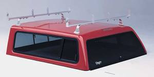 "Camper Shell Racks - Universal Campershell Aluminum Rack ""Attach to Top"""