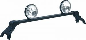 Deluxe Light Bar in Black Powder Coat - Jeep