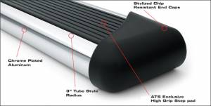 ATS Running Boards & Brackets - Edge Series