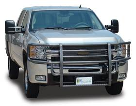 Rancher Grille Guards for GMC Trucks - Rancher Grille Guards in Hammerhead Grey