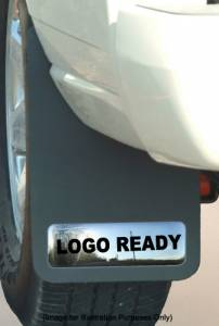 Logo Ready Mud Guards - Chevy