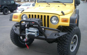 Fab Fours Premium Winch Bumpers - FAB Fours Jeep Bumpers