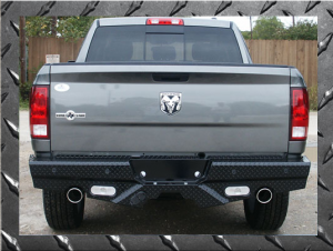 Frontier Rear Bumpers - Dodge