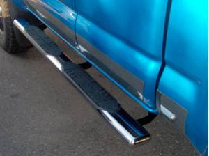 5 Inch Oval Cab Length Bars - Dodge