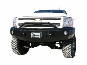 Bumpers - Iron Cross Front Bumper | Pre-Runner Guard | Winch Ready
