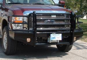 Ranch Hand Front Bumpers - Summit Sport Front Bumper 15K winch ready