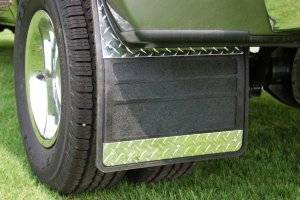 Mud Flaps for Dually Trucks