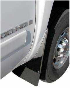 Traditional Stainless Steel Mud Flaps - Ford Trucks