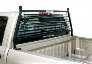 Painted Headache Racks (Black & White) - Dodge Trucks