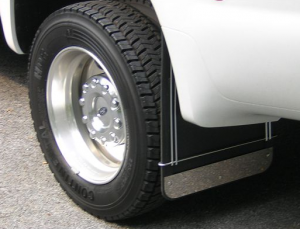 Mud Flaps for Trucks - Go Industries Dually Mud Flaps