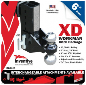 "Inventive Products Hitch Kits and XD Attachments - 6"" Hitch Kits"