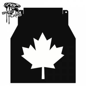 "Yamaha Snowmobiles - ""Maple Leaf"" Logo"