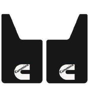 Mud Flaps for Trucks - Proven Design Mud Flaps with Logo's