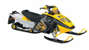 Snow Flaps - Ski Doo REV 2004-2007