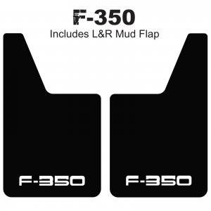 Ford Trucks - Proven Design Logo Mud Flaps