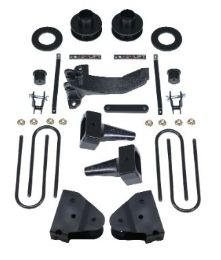 "ReadyLIFT - ReadyLIFT 69-2538 SST Lift Kits 3.5"" Front 1.0""-3.0"" Rear Ford F250/F350 Superduty Works With Camper Package 2008-2010 4WD ONLY SRW ONLY"