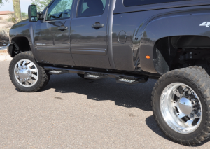 Iron Cross - Iron Cross 612-99110 Wheel to Wheel HD Step Dodge RAM Mega Cab 6.5' Bed Not Dually 2006-2009