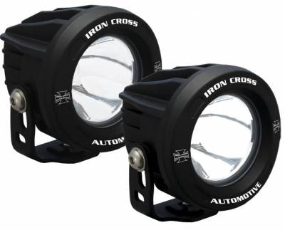 "Iron Cross - Iron Cross OP3R-ICKIT 4"" LED Fog Lamps - Pair"