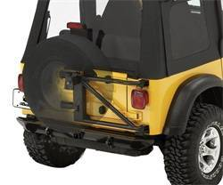 Bestop - Bestop 61960-01 HighRock 4x4 Spare Tire Carrier