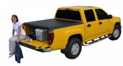 Access - Access 35259 LiteRider Roll Up Tonneau Cover Toyota Tundra 8' Bed With Deck Rail 2007-2010