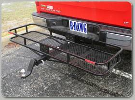 "B-Dawg - B-Dawg BD60205TO Steel Cargo Carrier with Towing Option 60"" x 20"" x 5"""