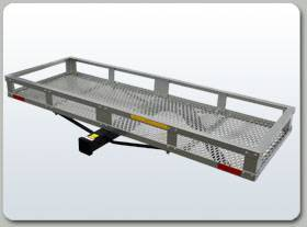 "B-Dawg - B-Dawg BD60205TOAL Aluminum Cargo Carrier with towing option 60"" x 20"" x 5"""
