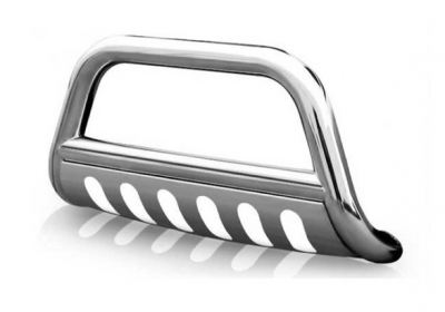 "Steelcraft - Steelcraft 77030 3"" Bull Bar for (2007 - 2009) Hyundai Santa Fe in Stainless Steel"