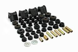 Daystar - Daystar KF09002BK Super Kit Master Polyurethane Set 4 Deg. C-Bushings 1966-1977 Ford Bronco 4WD