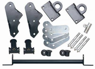 Rubicon Express - Rubicon Express RE2800 Jeep YJ Shackle Reverse Kit