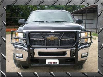Frontier Gear - Frontier Gear 200-20-3007 Grille Guard Chevy 1500/1500HD/Avalanche (WBH)/2500  (2003-2006)