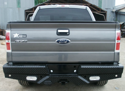 Frontier Gear - Frontier Gear 100-10-9011 Diamond Back Bumpers Ford F150 Super Crew with lights and sensors 2009-2014