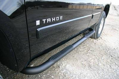 "Iron Cross - Iron Cross 51-400-B Cab Length 3"" Tube Step Black Powdercoat Ford F150/F250LD RegularCab 1997-2003"