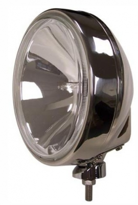 "Eagle Eye Lights - Eagle Eye Lights HID906S50W 8 5/16"" Stainless Steel 50W Internal Ballast HID Spot Clear Round HID Off Road Light with ABS Cover (Each)"