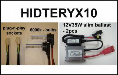 Eagle Eye Lights - Eagle Eye Lights HIDTERYX10 2010-2012 Kawasaki Teryx 35W HID (Kit)