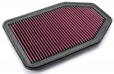 Rugged Ridge - Rugged Ridge 17752.05 Air Filter Synthetic Panel Jeep Wrangler Jeep Wrangler JK 2007-2012 38L And 28L Diesel
