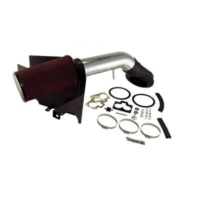 Rugged Ridge - Rugged Ridge 17750.22 Air Intake Kit Polished Aluminum Jeep Grand Cherokee Jeep ZJ 52L 59L 1993-1998