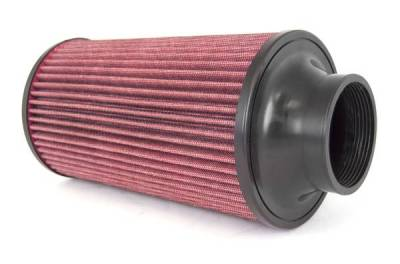 Rugged Ridge - Rugged Ridge 17753.01 Conical Air Filter Synthetic Cold Air Kit 1775001 1775002 1775004 And 1775006 77MM Flange 270MM Lenght