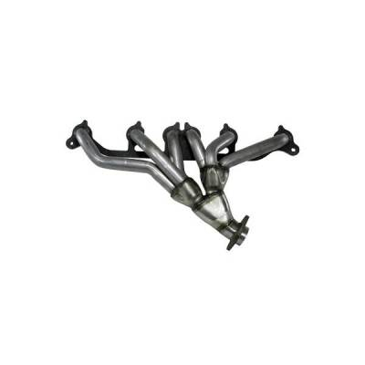 Rugged Ridge - Rugged Ridge 17650.01 Header Assembly 1991-1998 40L Wrangler/Cherokee Includes Manifold Gaskets 409 Stainless
