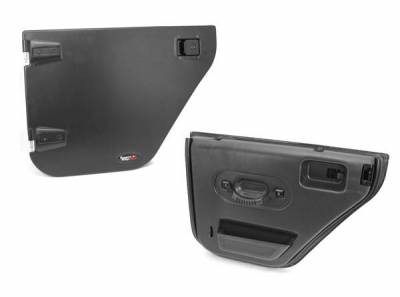 Rugged Ridge - Rugged Ridge 11509.02 Half Door Rear Pair Jeep Wrangler Jeep Wrangler JK 2007-2012