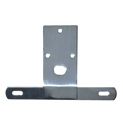 Rugged Ridge - Rugged Ridge 11136.01 License Plate Bracket Stainless 1976-1986 CJ