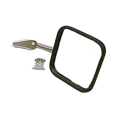 Rugged Ridge - Rugged Ridge 11005.04 Mirror & Arm Only Right Hand Stainless 1958-1986 CJ