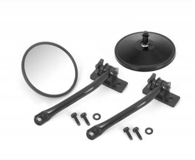Rugged Ridge - Rugged Ridge 11025.10 Mirror Relocation Pair 1997-2011 Black
