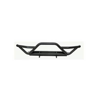 Rugged Ridge - Rugged Ridge 11502.11 RRC Front Grille Guard Black Textured 1987-2006 Jeep Wrangler/Unlimited
